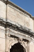 Arch of Titus in Rome — Stock Photo