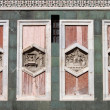 Reliefs on Giotto Campanile of Florence — Stock Photo