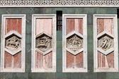 Reliefs am campanile von giotto von florenz — Stockfoto