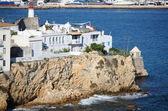 Sa Penya Distric in Ibiza — Stock Photo