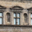 Renaissance windows - Stockfoto