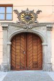 Renaissance front door — Stock Photo