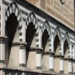 Sepulchral niches in Florence — Stock Photo