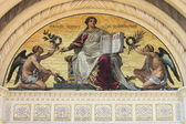 Mosaic in the Famedio of Milan — Stock Photo