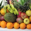 Stock Photo: Composition of fresh fruits