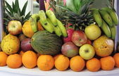 Composition of fresh fruits — Stock Photo