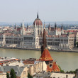 Parliament of Hungary in Budapest — Stock Photo