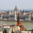 Stock Photo: Parliament of Hungary in Budapest