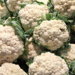 Stock Photo: Fresh cauliflowers