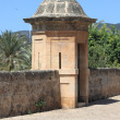 Sentry box at Dalt Murada - Stock Photo