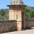 Sentry box at Dalt Murada — Stock Photo