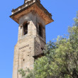 Belfry of St. Bartholomew church in Valldemossa — Stock Photo