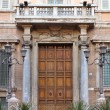 Entrance door of Madama Palace in Rome — Stock Photo #22502371