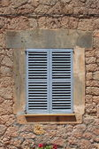 Italian style shutters — Stock Photo