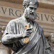 Statue of Saint Peter the Apostle — Stock Photo #22668623