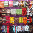 Colorful bracelets — Stock Photo