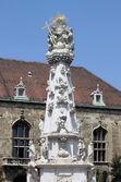 Колонна Святой Троицы в Будапеште — Стоковое фото