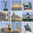 Stock Photo: Budapest landmarks collage