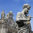 Statue of Saint Peter the Apostle — Stock Photo