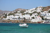 Panoramic view of Mykonos — Stock Photo