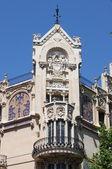 Facade of Gran Hotel in Palma de Mallorca — Stock Photo