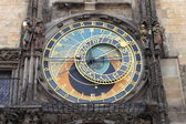 Prague Astronomical Clock — 图库照片