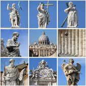 Urban scenes of the Vatican — Stock Photo