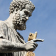 Statue of Saint Peter the Apostle — Stock Photo #24074949