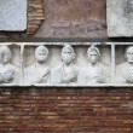 Basrelief in Appian way — Stock Photo #24081679