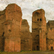 Baths of Caracalla - Vintage — Stock Photo
