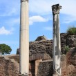 Columns of an ancient roman temple — Stock Photo