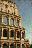 Colisée de rome - vintage — Photo