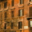 Ancient building in Rome - Vintage — Stock Photo #24353383