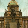 Wenceslas Square - Vintage — Stock Photo #24552347
