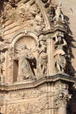 Basreliefs in St. Francis of Assisi in Palma de Mallorca — Stock Photo