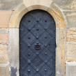 Medieval front door — Stock Photo
