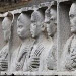 Basrelief in Appian way — Stock Photo #24745363
