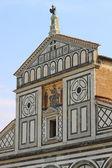 Basílica de san miniato en florencia — Foto de Stock