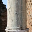 Ancient marble column — Stock Photo