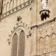 Gothic decorations of Palma de Mallorca cathedral - Stock Photo