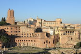 Trajan Forum in Rome — Stock Photo