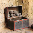 Stock Photo: Old chest