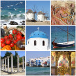 Royalty-Free Stock Photo: Greece landmarks collage