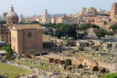 Vista panorâmica do Fórum Romano — Fotografia Stock