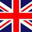 Flag of UK — Stock Photo #25587499