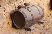 Gunpowder barrel — Stock Photo