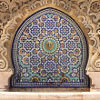 Stock Photo: Moroccfountain with mosaic tiles
