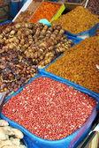 Torkad frukt och baljväxter — Stockfoto