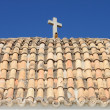 Roof of Church of Santo Domingo in Ibiza — Stock Photo