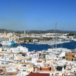 Stock Photo: Panoramic view of Ibiztown